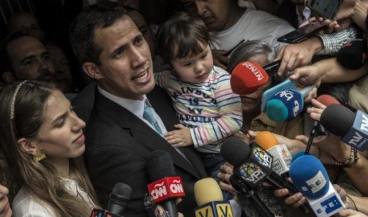 """Estados Unidos condena """"atroz intimidación"""" contra Guaidó"""