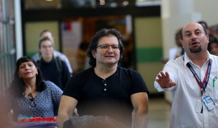 Ex frentista Patricio Ortiz volvió a Chile tras fugarse de la cárcel de Alta Seguridad hace 23 años