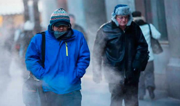 Frente frío no. 34 ocasionará lluvias y vientos fuertes