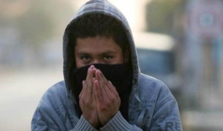 Frente frío no. 34 ocasionará lluvias y vientos fuertes en el noroeste de México