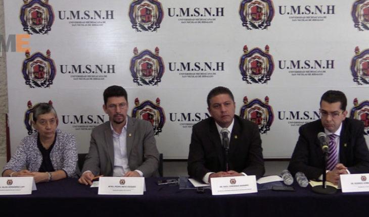 Funcionarios nicolaitas disminuirán 10 por ciento su salario, UMSNH presenta programa de Contención