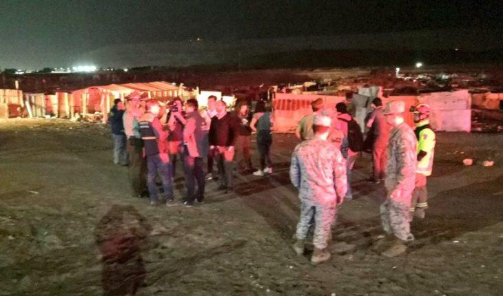 Gobierno afirmó que Ejército y Carabineros están listos para auxiliar en el norte