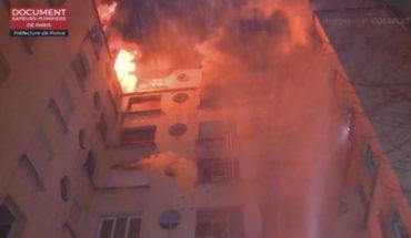 Incendio en un apartamento en París deja 7 muertos, heridos