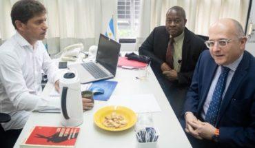 """Kicillof a los enviados del FMI: """"Este acuerdo no es sostenible""""."""