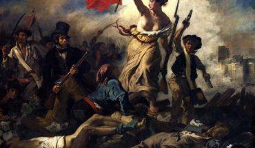 """Las dos libertades de Benjamin Constant. """"La Libertad guiando al pueblo"""", de Eugène Delacroix (1830) (Wikimedia Commons / Dominio público)."""