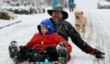 Las hermosas fotos y videos de las nevadas que congelan a EU