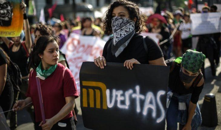 Las imágenes de la marcha contra el acoso y los feminicidios