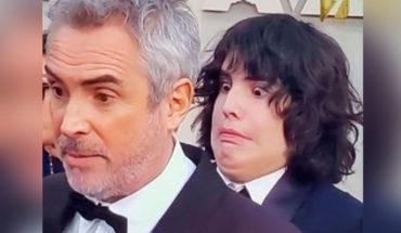 Le llueven críticas a Cinemex por utilizar al hijo de Cuarón en meme