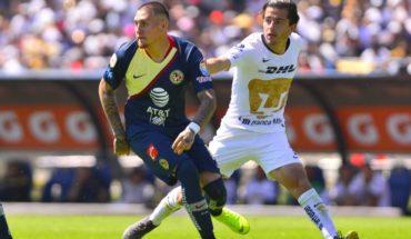 México: Pumas con Mora y Rodríguez superó con lo justo al América de Castillo