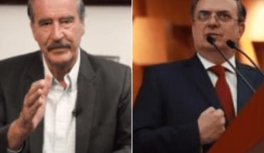 """Maduro los va a chamaquear"": Fox a Marcelo Ebrard"