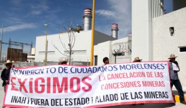 Marchan contra consulta sobre termoeléctrica en Huexca
