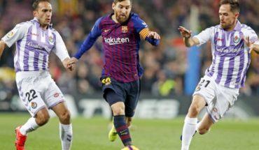 Messi devuelve el triunfo a Barcelona ante Valladolid, en la previa de los octavos de Champions