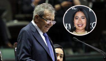 Muñoz Ledo compara a Yalitzia Aparicio con Dolores del Río