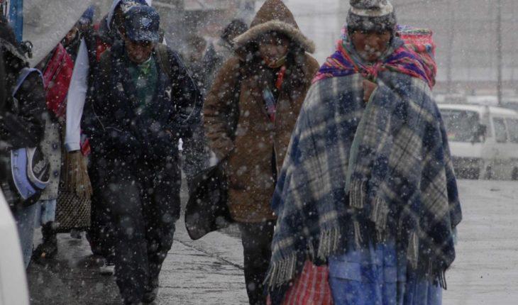 Nieve, tormentas y un nuevo frente frío azotará a México