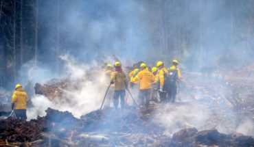 ONEMI contabiliza 32 incendios activos