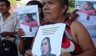 ONU pide reforzar búsqueda de activistas desaparecidos