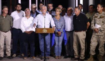"""Piñera aumenta la cifra tras nuevo balance: """"La inversión será de $60 mil millones en las regiones afectadas"""""""