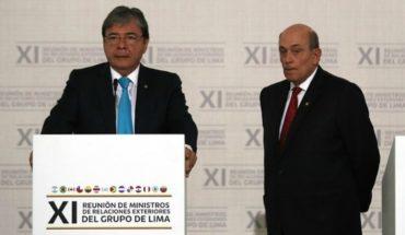 Próxima sesión del Grupo de Lima para discutir crisis en Venezuela se realizará en Chile