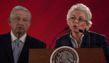 Sánchez Cordero pidió reservar datos en su declaración