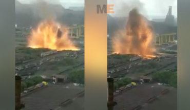 Se registra una fuerte explosión en ArcelorMittal, en Lázaro Cárdenas, sólo un choque térmico sin víctimas ni daños, afirma la empresa