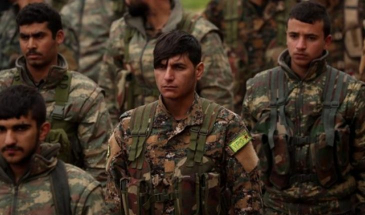 Según kurdos EI controla 2 kilómetros cuadrados en Siria