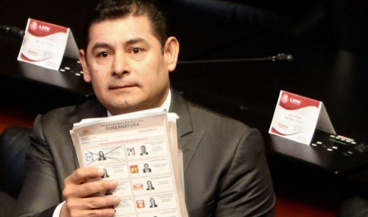 Senadores de Morena respaldan a Armenta para Puebla