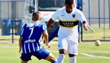 Tras la lesión, Frank Fabra jugó en la Reserva de Boca