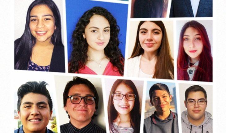Trece escolares chilenos sobresalen y viajarán a EE.UU. como Embajadores Jóvenes 2019