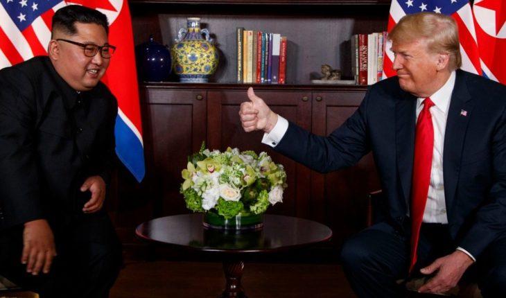 Trump y Kim Jong-un se reúnen a solas previo a segunda cumbre en Hanoi