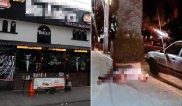 Un baleado durante riña en bar de Ciudad de México
