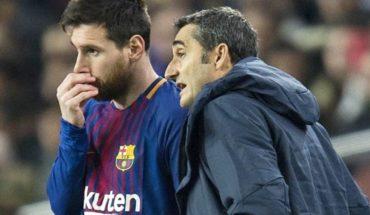 Valverde confiesa un pacto con Messi para la Copa del Rey