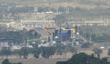Venezuela: un puente de 300 metros separa los recitales en la frontera