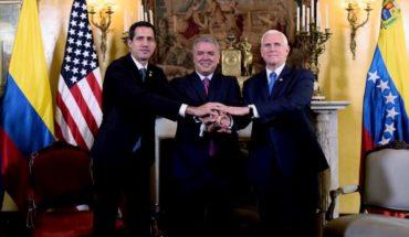 """Vicepresidente de EE.UU reafirmó apoyo a Guaidó tras los """"trágicos"""" incidentes del fin de semana"""
