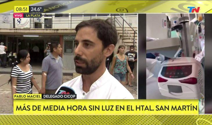 Bebés con Respiración artificial en el hospital de La Plata por falta de luz