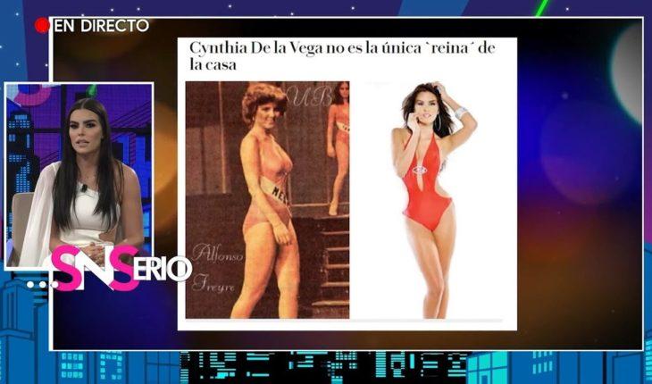 Cynthia de la Vega habla de su trayectoria
