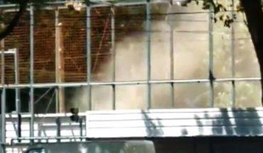 Video: Impactante fuga de gas en Rosario alerta a los vecinos