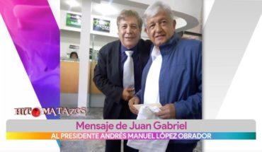 Juan Gabriel entrega cartas al presidente de México | Vivalavi