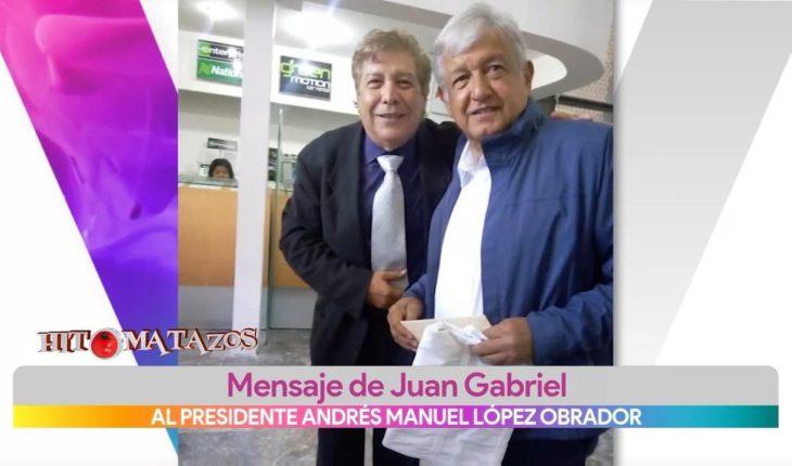 Juan Gabriel entrega cartas al presidente de México   Vivalavi