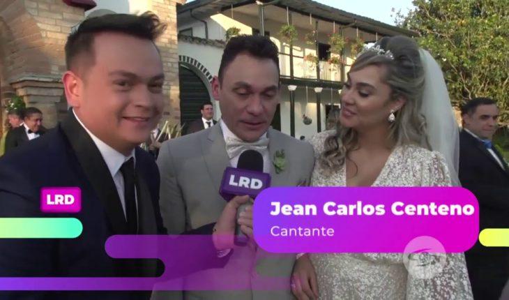 La Red: ¡Jean Carlos Centeno se casó, tenemos imágenes de la boda! - Caracol Televisión