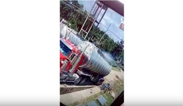 Video de supuesto huachicolero que muere está editado
