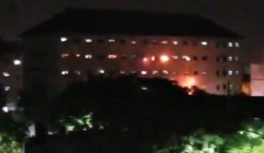 Video: presos de Devoto protestaron con fuego contra las condiciones del penal