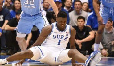 Zion Williamson, la promesa que sufrió una dura lesión y alertó a la NBA