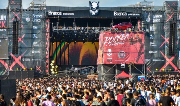 5 days for the Cosquin Rock: the grid complete
