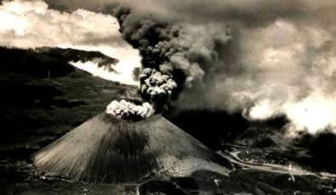 76 años del nacimiento del volcán Parhíkutin