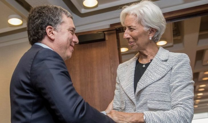 A new mission from the International Monetary Fund arrives at the Argentina