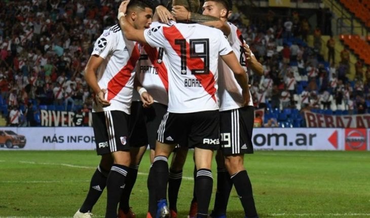 A toned River will visit Velez