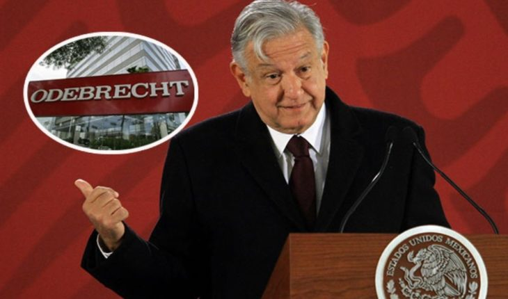 AMLO requests to disclose all information of the Odebrecht case