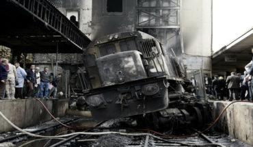Accidente de tren en Egipto, deja al menos 25 muertos y 47 heridos