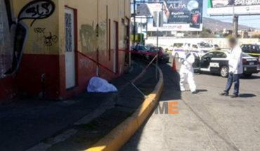 Adulto mayor muere en la Av. Héroes de Nocupétaro en Morelia, sufrío un paro cardíaco