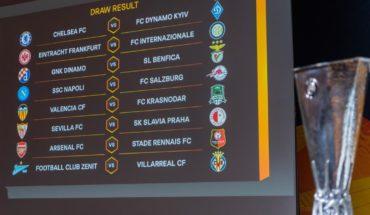 Así quedaron los cruces en los octavos de final en la Europa League